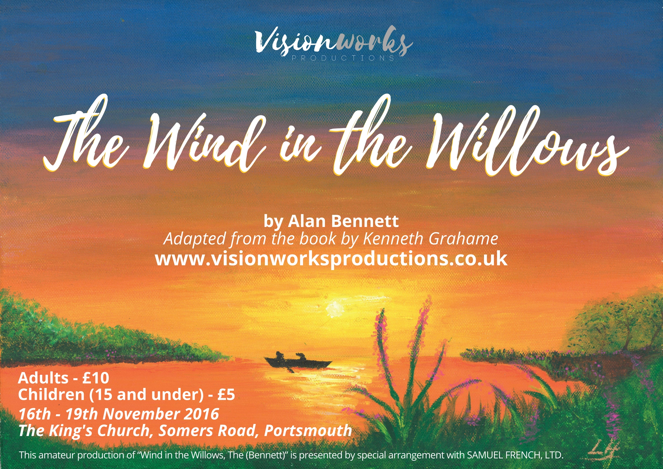 Visionworks Productions The Wind in the Willow Portsmouth